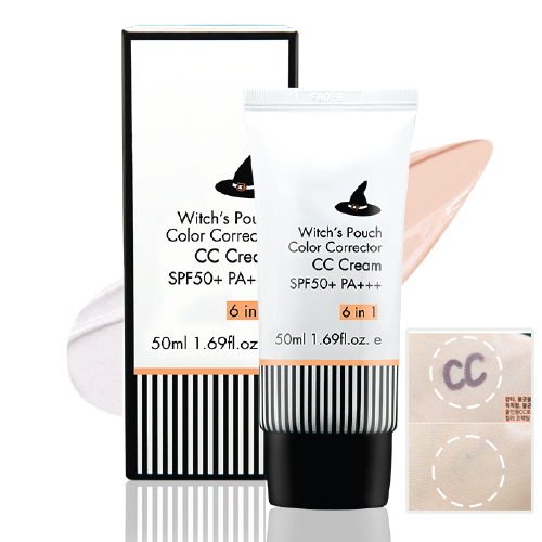 Witch's Pouch Color Corrector CC Cream SPF50+ PA+++