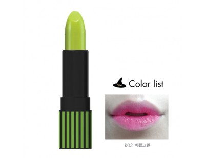 Witch's Pouch POPO Lip Tint #R03 Apple Green