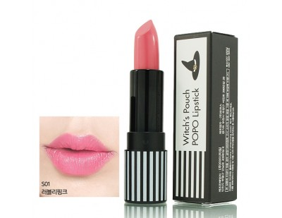 Witch's Pouch POPO Lipstick #S01 Lovely Pink
