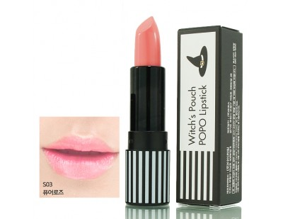 Witch's Pouch POPO Lipstick #S03 Pure Rose