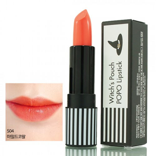 Witch's Pouch POPO Lipstick #S04 Coral Mild