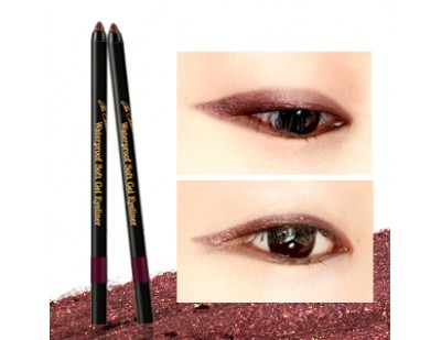 Witch's Pouch The Choute Waterproof Soft Gel Eyeliner #3 Red Velvet Brown