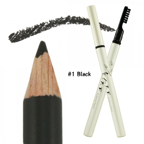 Witch's Pouch The Choute Eyebrow Pencil Soft-Core #1 Black