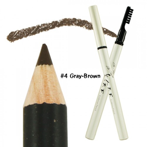 Witch's Pouch The Choute Eyebrow Pencil Soft-Core #4 Gray-Brown