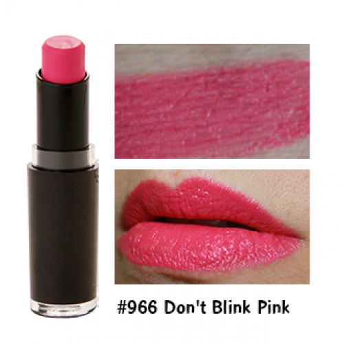 Wet N Wild Lipstick #966 Don't Blink Pink