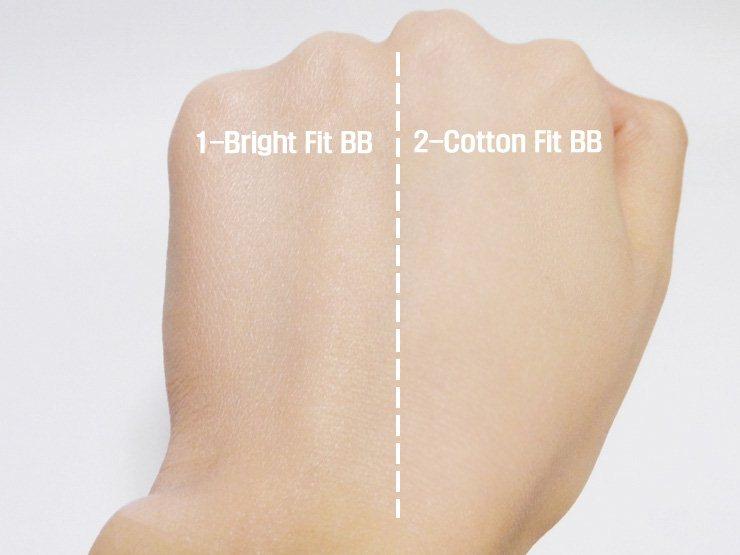 Etude House Precious Mineral Cotton Fit BB Cream SPF30 PA++ #N02 Light Beige