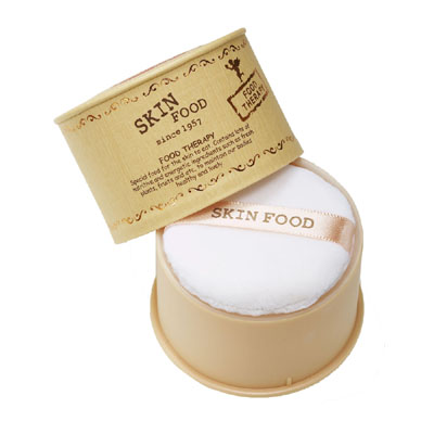 Skinfood Peach Sake Silky Finish Powder (แป้งพีชสาเก)